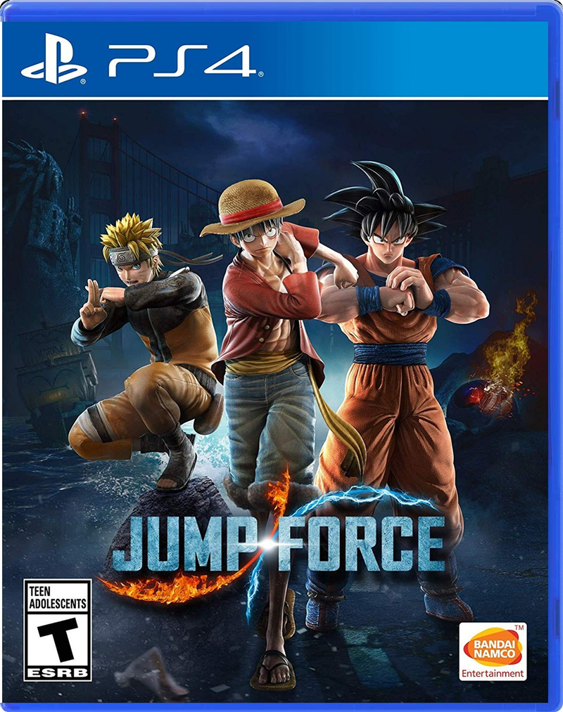 PS4 JUMP FORCE ALL (ENG/FR/SP)