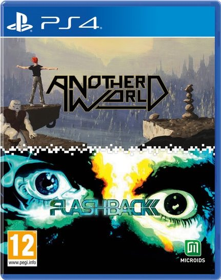 PS4 ANOTHER WORLD 20TH ANNIVERSARY EDITION / FLASHBACK DOUBLE PACK REG.2