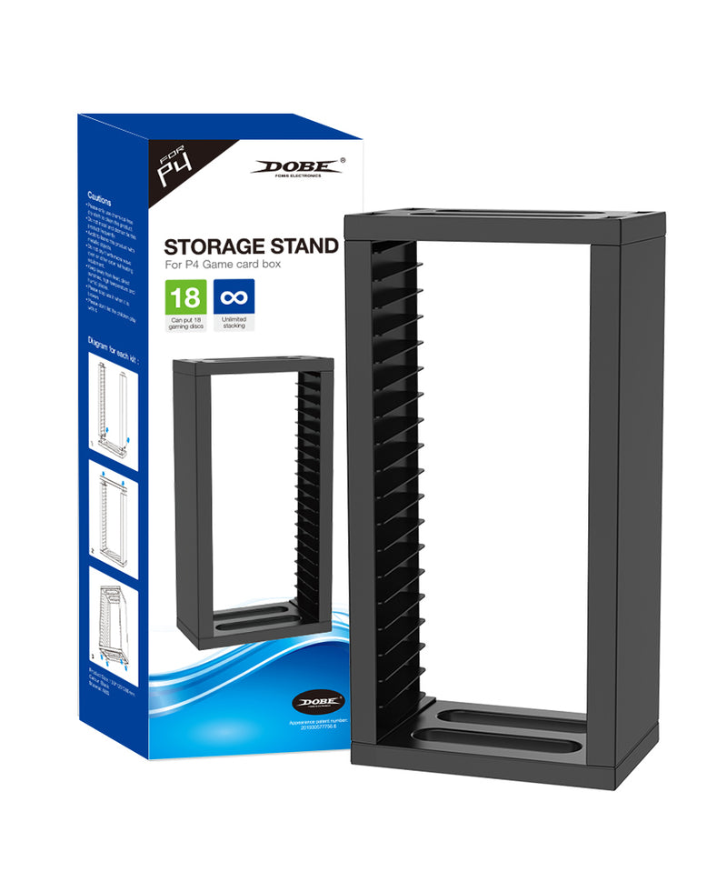 DOBE PS4 STORAGE STAND FOR P4 GAME CARD BOX 18 (TP4-19221)