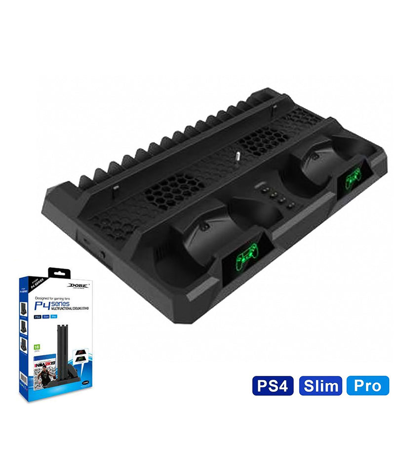 DOBE PS4 TP4-18119 MULTIFUNCTIONAL COOLING STAND (PS4/SLIM/PRO)