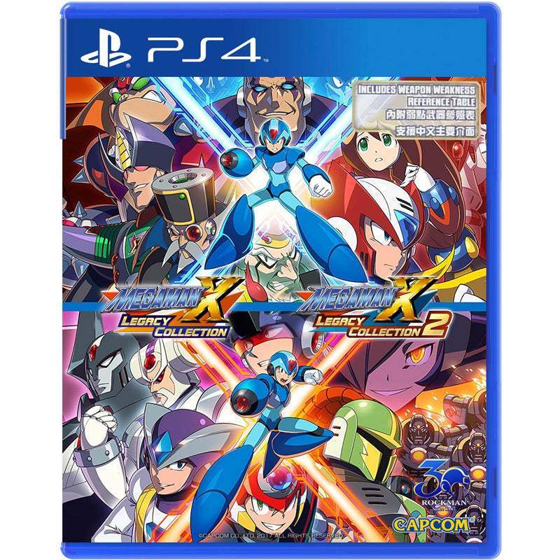 PS4 MEGA MAN X LEGACY COLLECTION 1+2