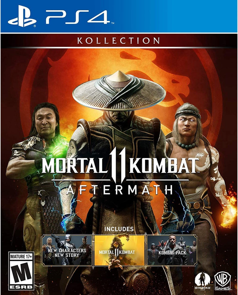 PS4 MORTAL KOMBAT 11 AFTERMATH KOLLECTION ALL