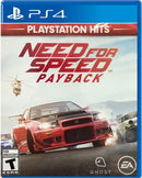 PS4 NEED FOR SPEED PAYBACK ALL (ENG/FR) PLAYSTATION HITS