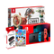 NSW CONSOLE (NEON RED/BLUE) + LABO KIT TOY-CON 03 DRIVE KIT (JAP) + DOBE PROTECTIVE PACK (TNS-18110) + NSW-DISNEY TSUM TSUM FESTIVAL (ASIAN) BUNDLE