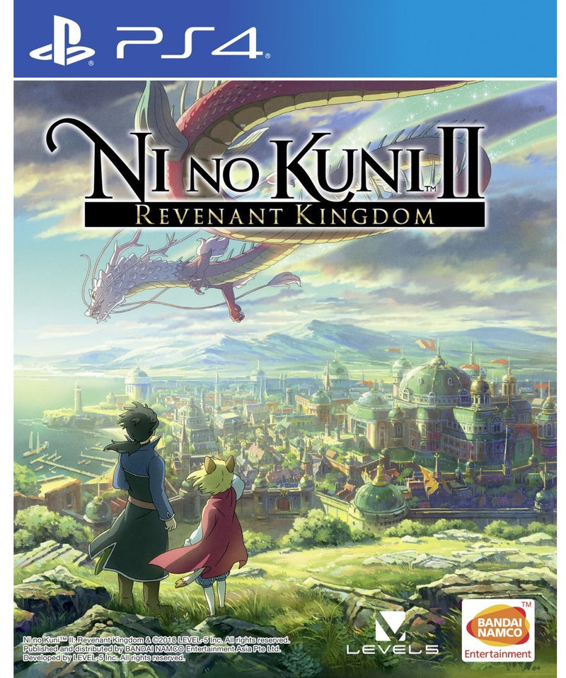 PS4 NI NO KUNI II REVENANT KINGDOM ALL (ENG/SP/FR)