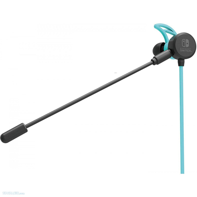 NSW HORI GAMING HEADSET IN-EAR NEON BLUE/RED (NSW-159A)