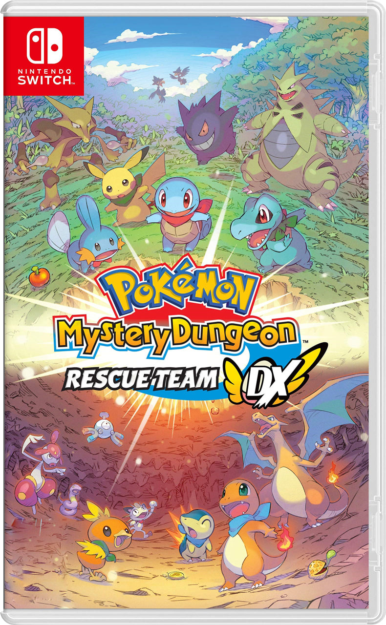 NSW POKEMON MYSTERY DUNGEON RESCUE TEAM DX (US) (ENG/SP)