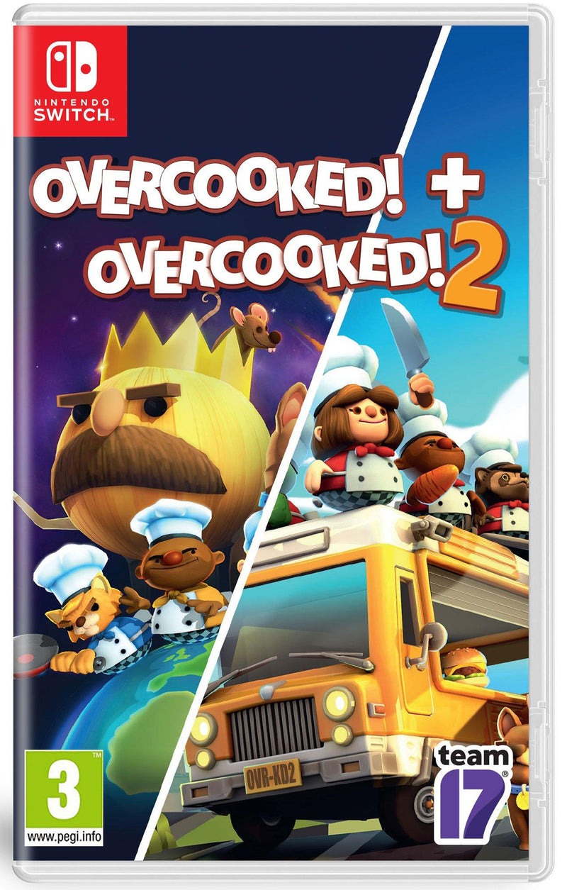 NSW OVERCOOKED! SPECIAL EDITION + OVERCOOKED! 2 (EU)