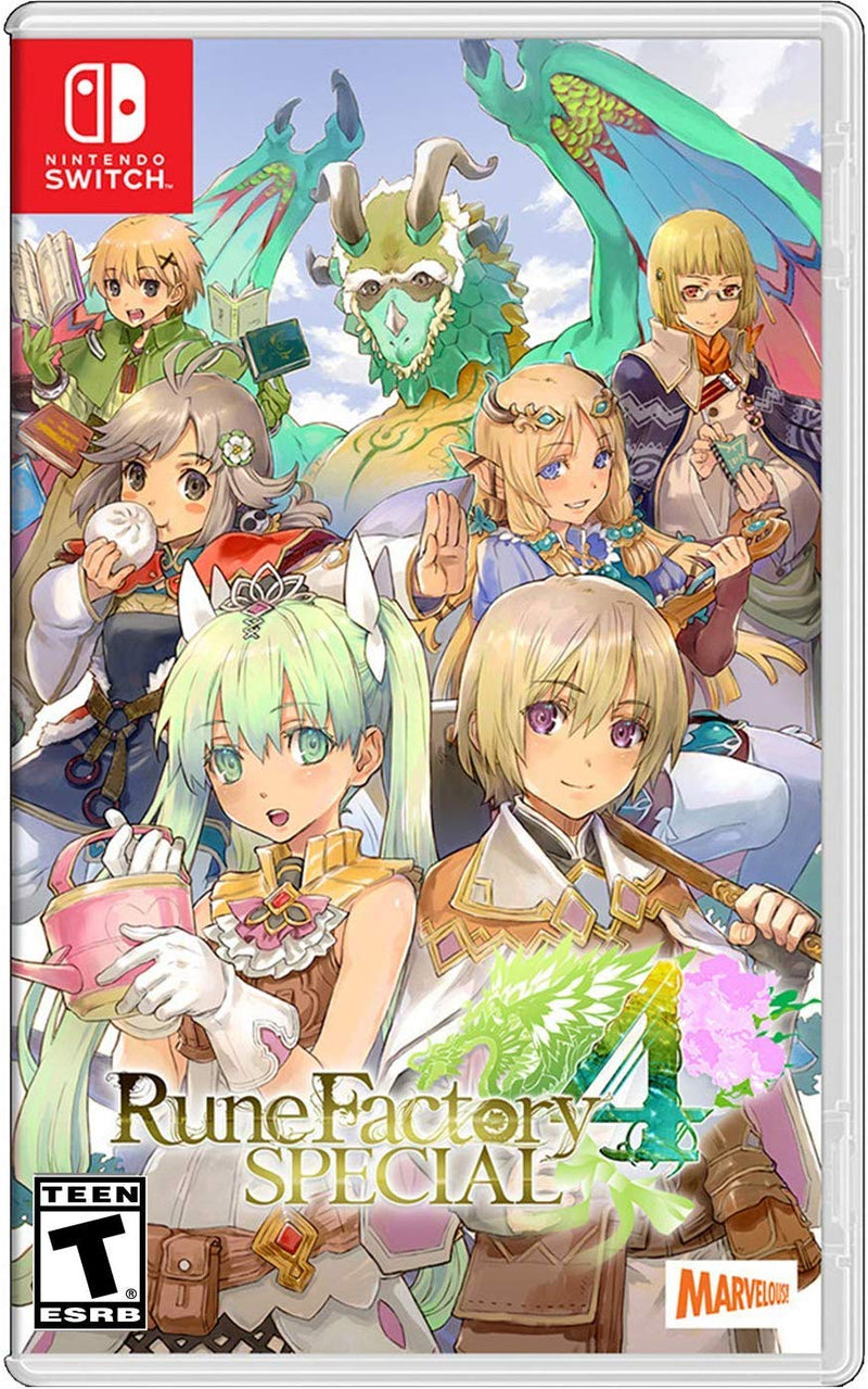 NSW RUNE FACTORY 4 SPECIAL EDITION (US)