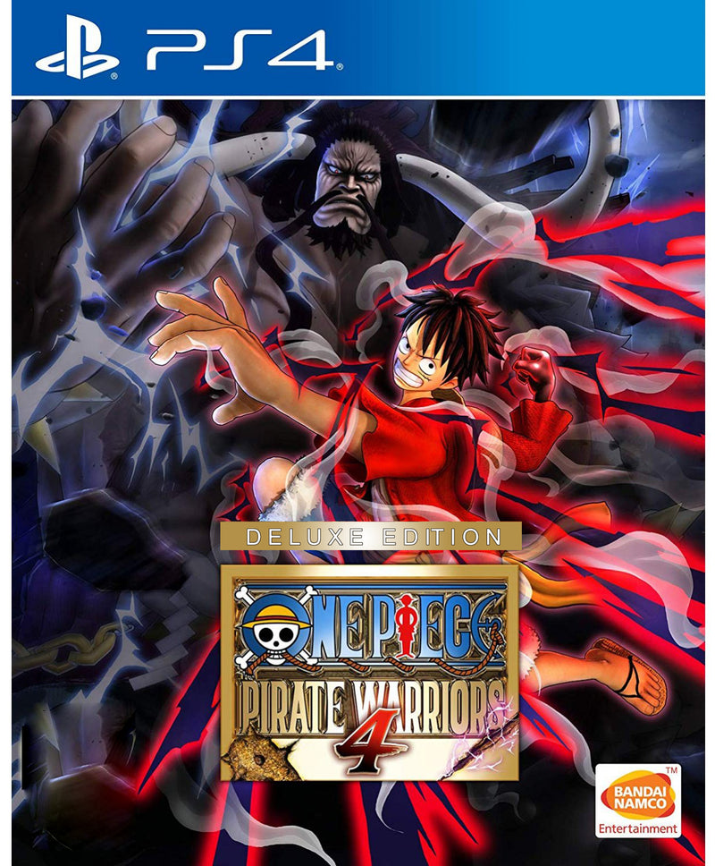PS4 ONE PIECE WARRIORS 4 DELUXE EDITION REG.3