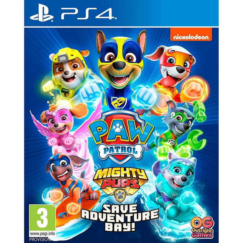 PS4 PAW PATROL MIGHTY PUPS SAVE ADVENTURE BAY REG.2