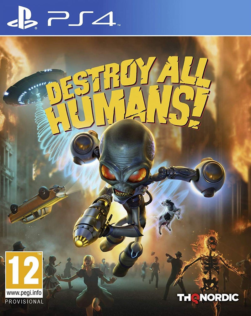 PS4 DESTROY ALL HUMANS! REG.2
