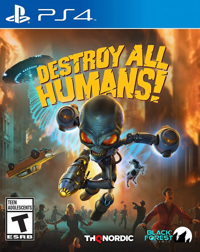 PS4 DESTROY ALL HUMANS! ALL (ENG/FR)