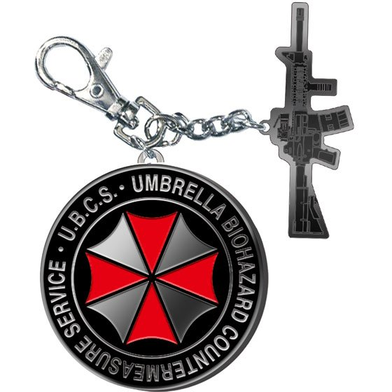 RESIDENT EVIL 3 BIOHAZARD METAL KEYCHAIN COLLECTION (CHOOSE ONE KEYCHAIN VERSION)