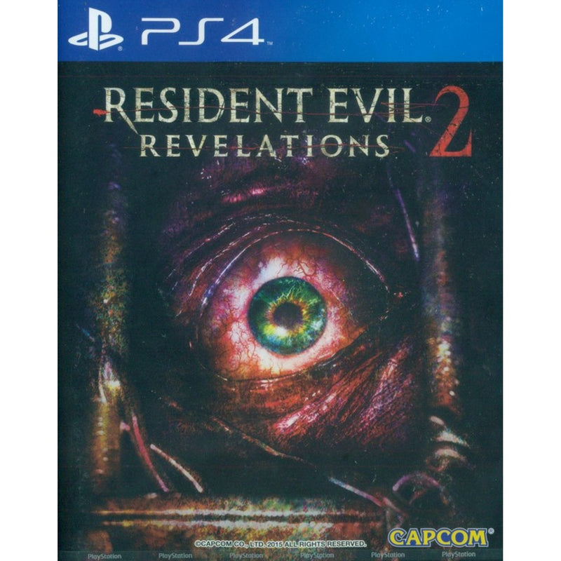 PS4 RESIDENT EVIL REVELATIONS 2 ALL ASIAN