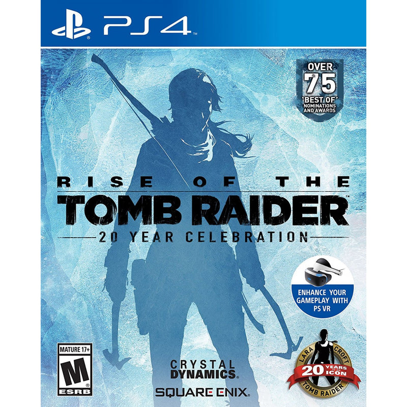 PS4 RISE OF THE TOMB RAIDER 20 YEAR CELEBRATION ALL