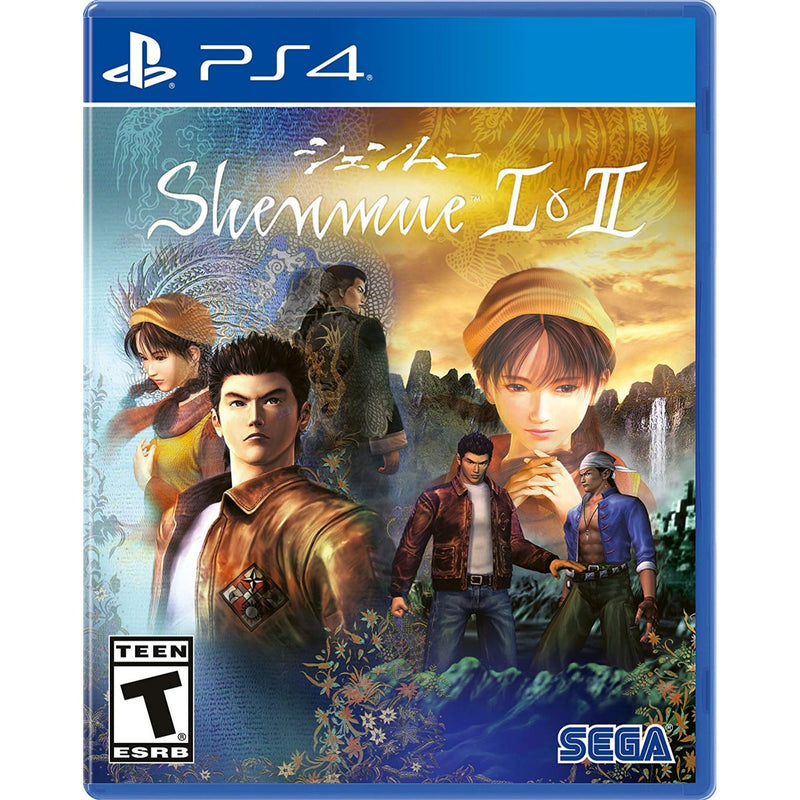 PS4 SHENMUE I & II INCLUDES DOUBLE-SIDED POSTER ALL