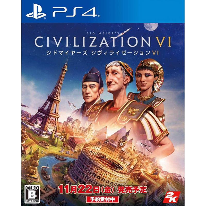 PS4 SID MEIERS CIVILIZATION VI REG.3