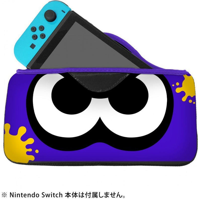 NSW QUICK POUCH COLLECTION SPLATOON 2 (NEON BLUE SQUID) JPN