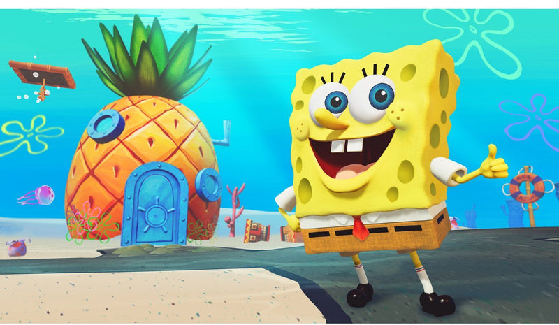 PS4 SPONGEBOB SQUAREPANTS BATTLE FOR BIKINI BOTTOM REHYDRATED REG.2