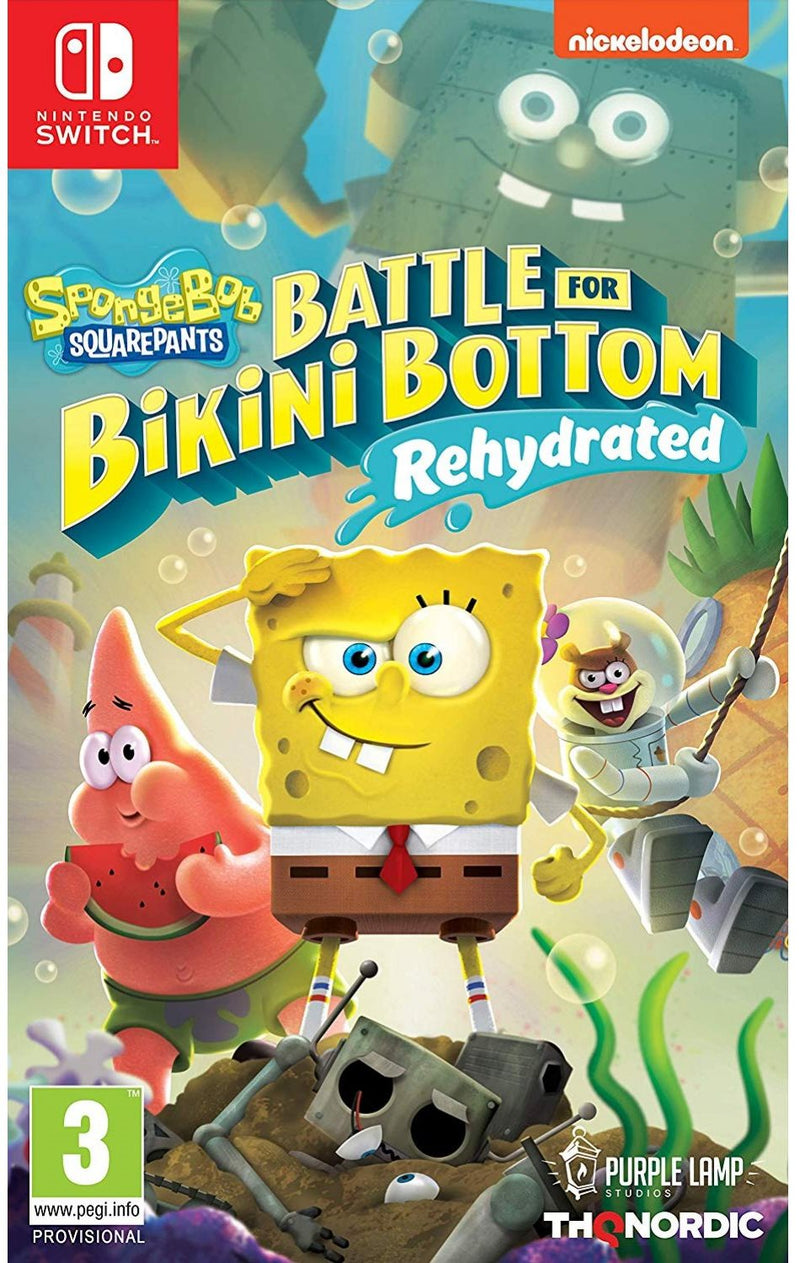 NSW SPONGEBOB SQUAREPANTS BATTLE FOR BIKINI BOTTOM REHYDRATED (EU)