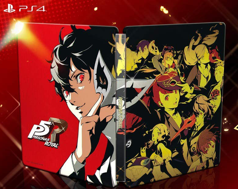 PS4 PERSONA 5 THE ROYAL REG.3 W/ EXCLUSIVE P5R STEELBOOK