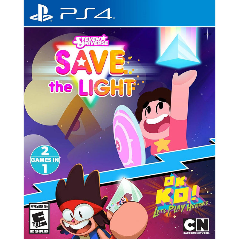 PS4 STEVEN UNIVERSE SAVE THE LIGHT OK K.O LETS PLAY HEROES ALL (ENG/FR)