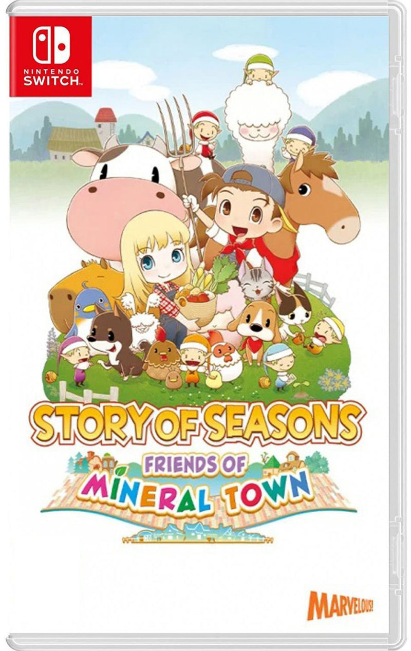 NSW STORY OF SEASONS FRIENDS OF MINERAL TOWN (US)