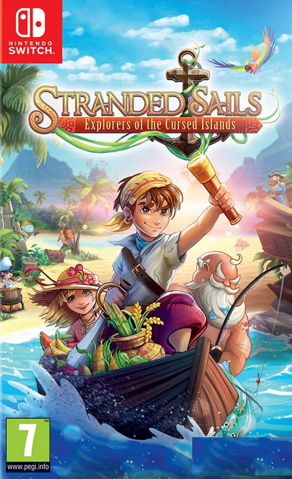NSW STRANDED SAILS EXPLORERS OF THE CURSED ISLANDS (US) (ENG/FR)