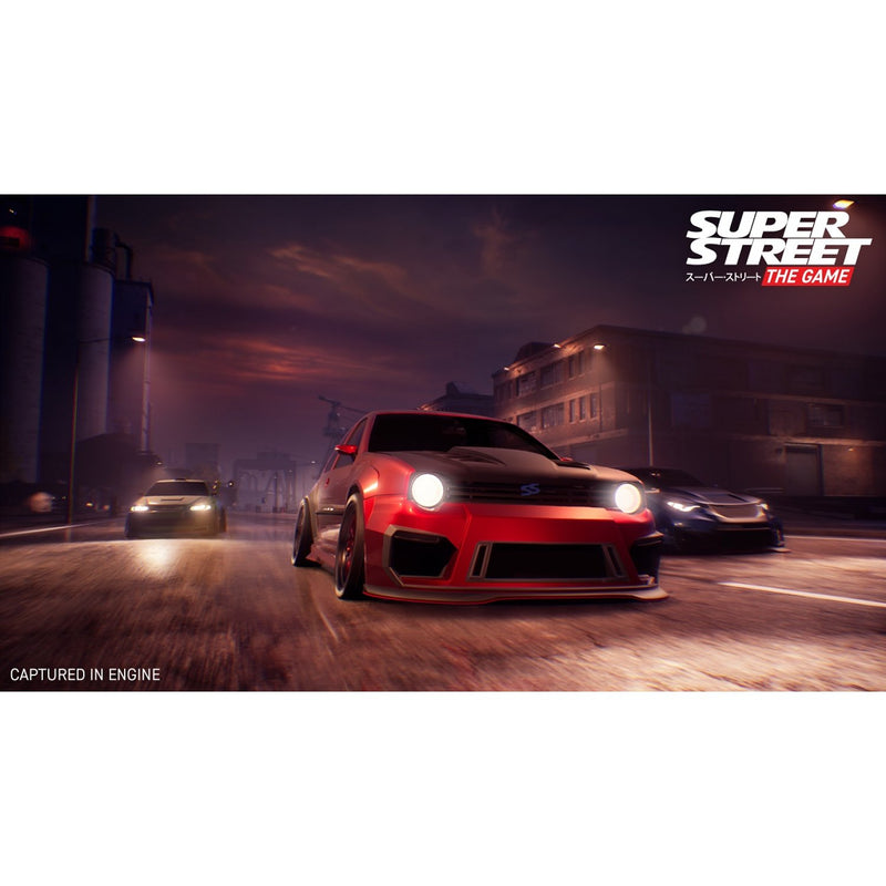 PS4 SUPER STREET THE GAME REG.2