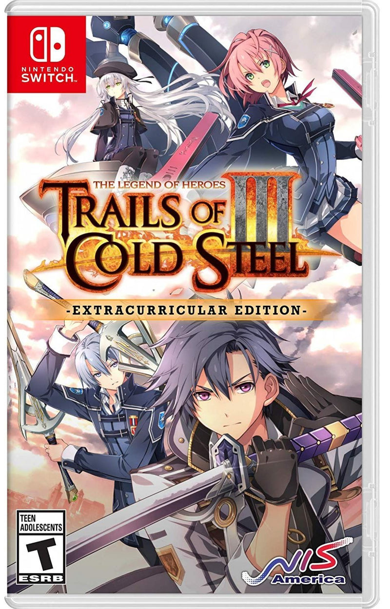 NSW THE LEGEND OF HEROES TRAILS OF COLD STEEL III EXTRACURRICULAR (US) (ENG/FR)
