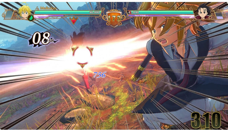 PS4 THE SEVEN DEADLY SINS KNIGHTS OF BRITANNIA ALL (ENG/FR)
