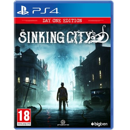 PS4 THE SINKING CITY DAY ONE EDITION REG.2