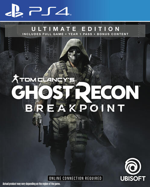 PS4 TOM CLANCYS GHOST RECON BREAKPOINT ULTIMATE EDITION REG.3