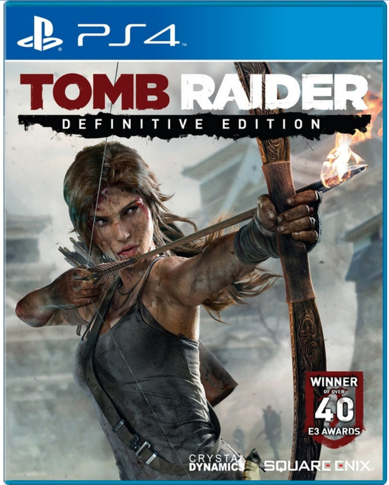 PS4 TOMB RAIDER DEFINITIVE EDITION REG.3 VALUE SELECTION