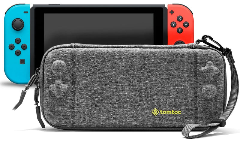 NSW TOMTOC SLIM PROTECTIVE CASE FOR N-SWITCH (GRAY) (A05-001G)