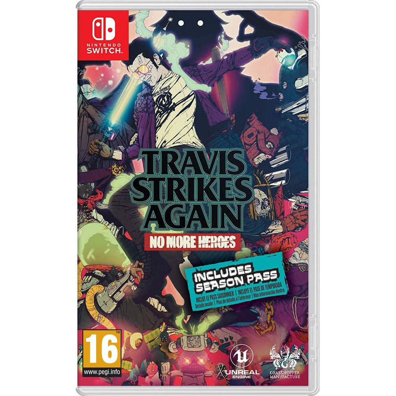 NSW TRAVIS STRIKES AGAIN NO MORE HEROES (INCLUDES SEASON PASS) EU