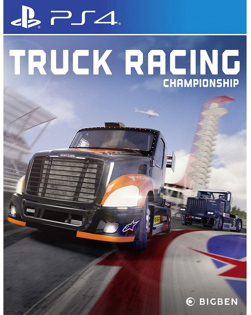 PS4 TRUCK RACING CHAMPIONSHIP ALL (ENG/FR)