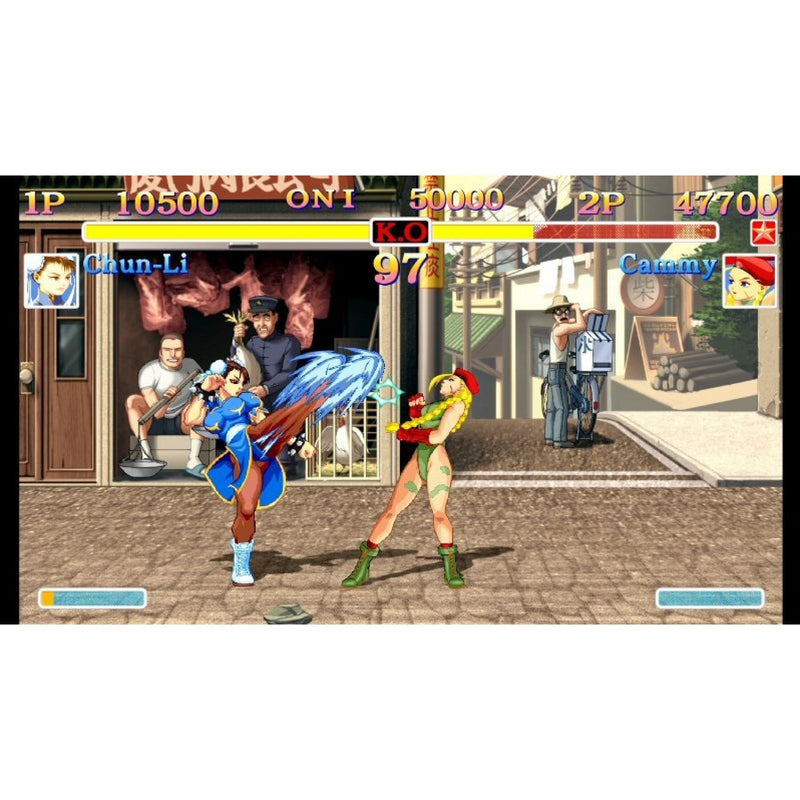 NSW ULTRA STREET FIGHTER II THE FINAL CHALLENGERS