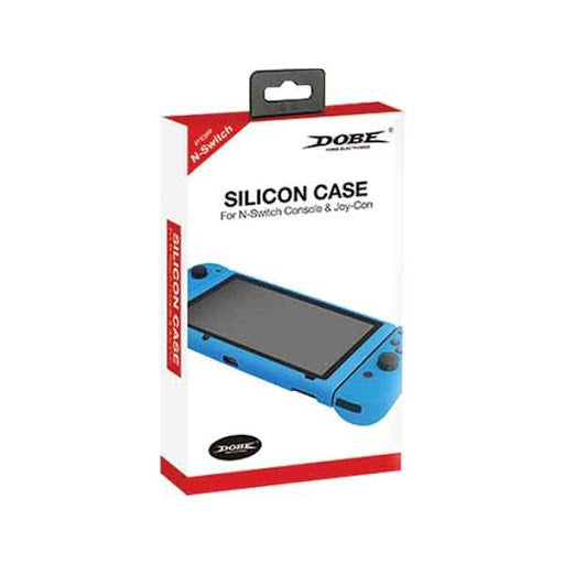 DOBE NSW SILICON CASE CONSOLE & JOY-CON BLUE (TNS-1707)