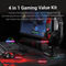 REDRAGON GAMING ESSENTIALS 4 IN 1 SET (KEYBOARD/MOUSE/MOUSEPAD/HEADSET) (S101-BA-2)