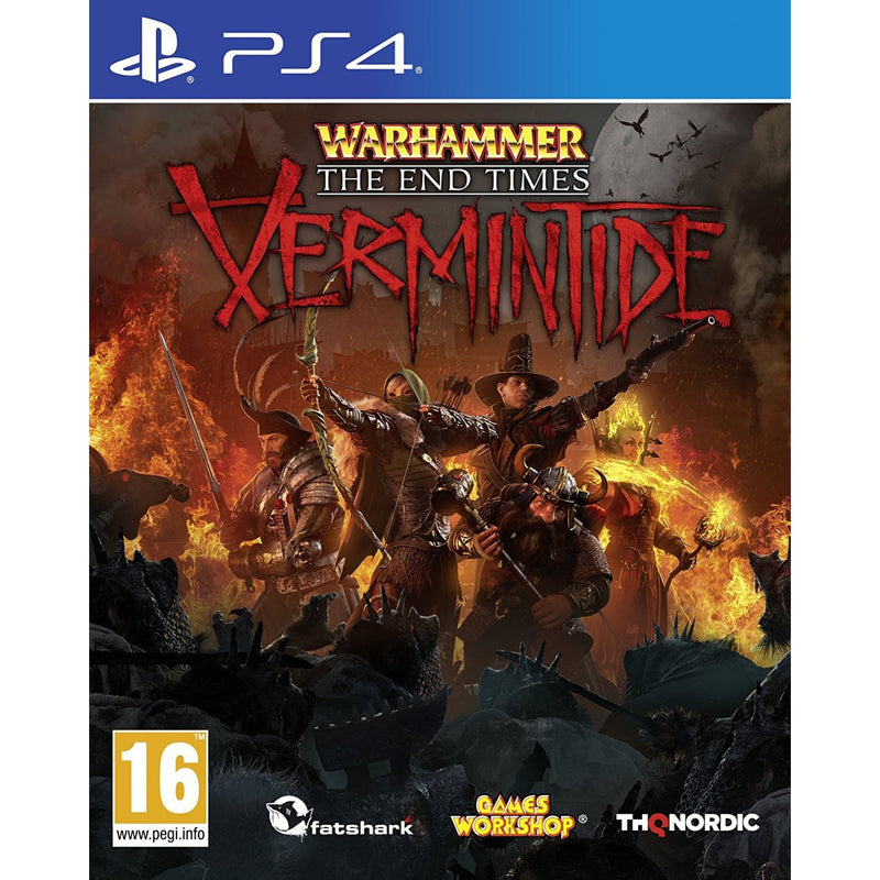 PS4 WARHAMMER THE END TIMES VERMINTIDE REG.2