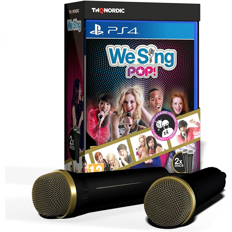 PS4 WE SING POP! WITH 2 MICROPHONE (EU)