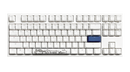 DUCKY ONE 2 TKL MECHANICAL KEYBOARD WHITE CASE (CHERRY RGB SPEED SWITCH) (DKON1787ST-PUSPDWWT1)