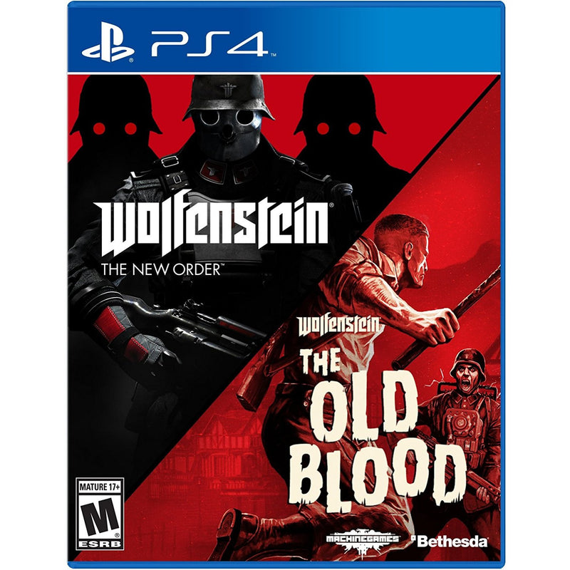 PS4 WOLFENSTEIN THE TWO PACK ALL