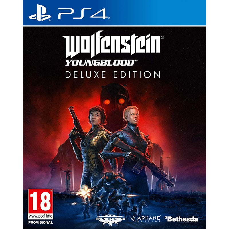 PS4 WOLFENSTEIN YOUNGBLOOD DELUXE EDITION REG.2