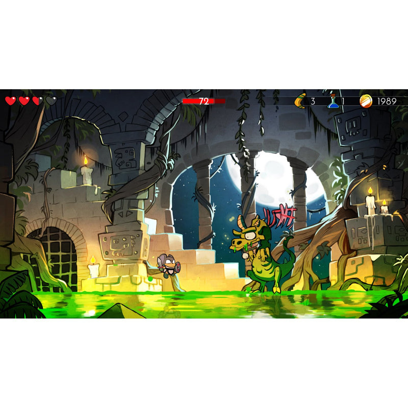 PS4 WONDER BOY THE DRAGONS TRAP ALL