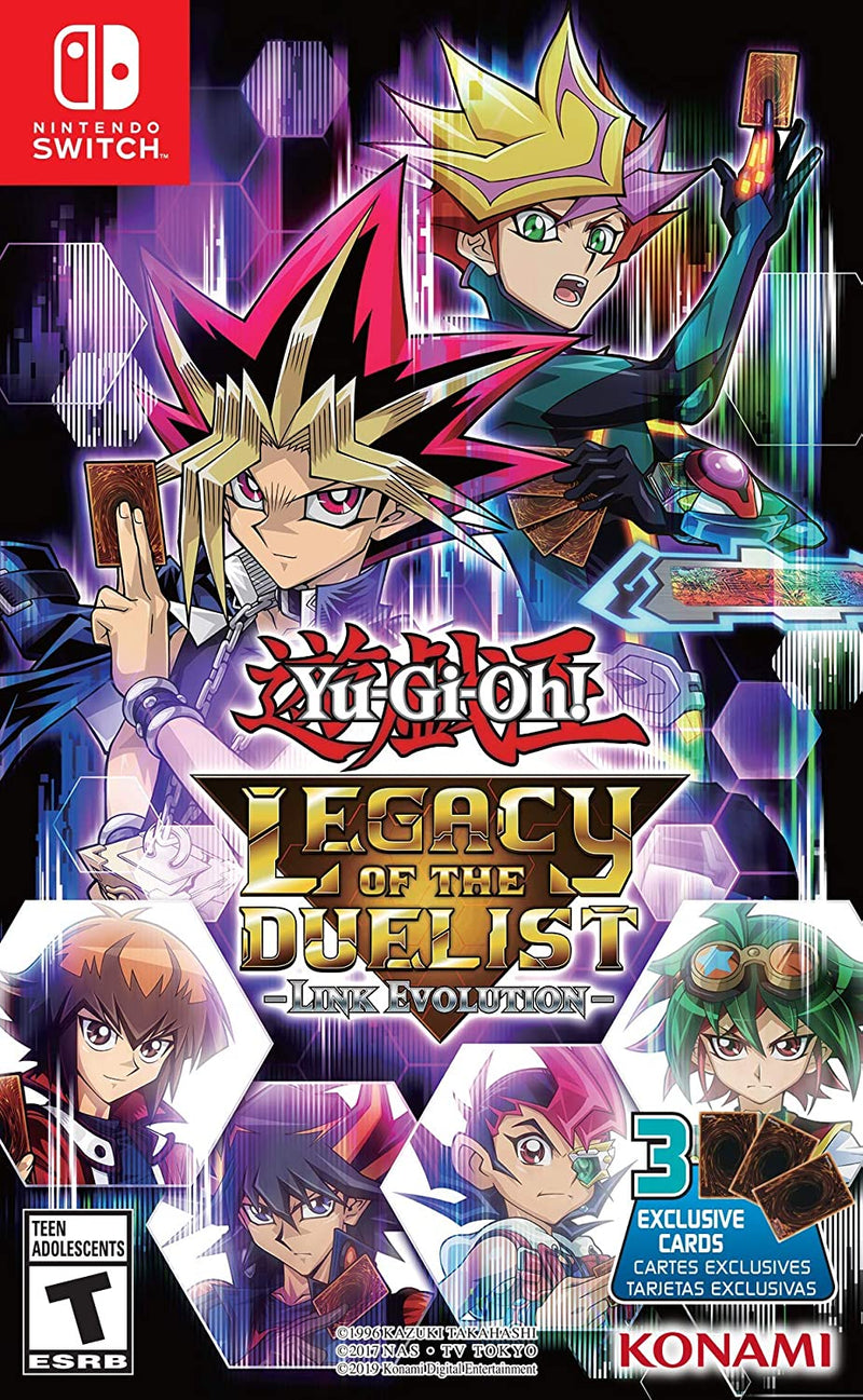 NSW YU-GI-OH LEGACY OF THE DUELIST LINK EVOLUTION (US) (ENG/FR)
