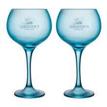 Load image into Gallery viewer, x2 Tarquin's Goblet-style Blue Gin Glass
