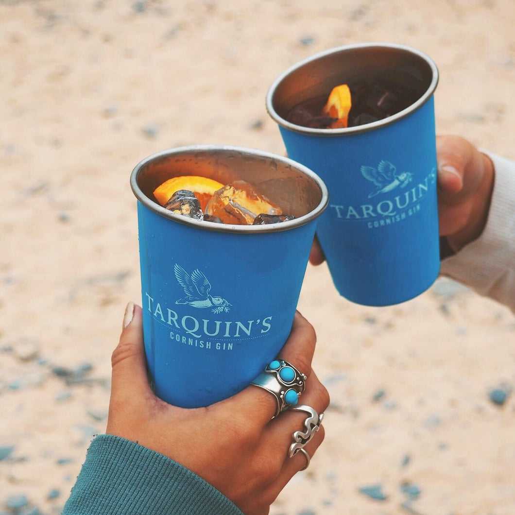 x 4 Exclusive Tarquin's metal cups